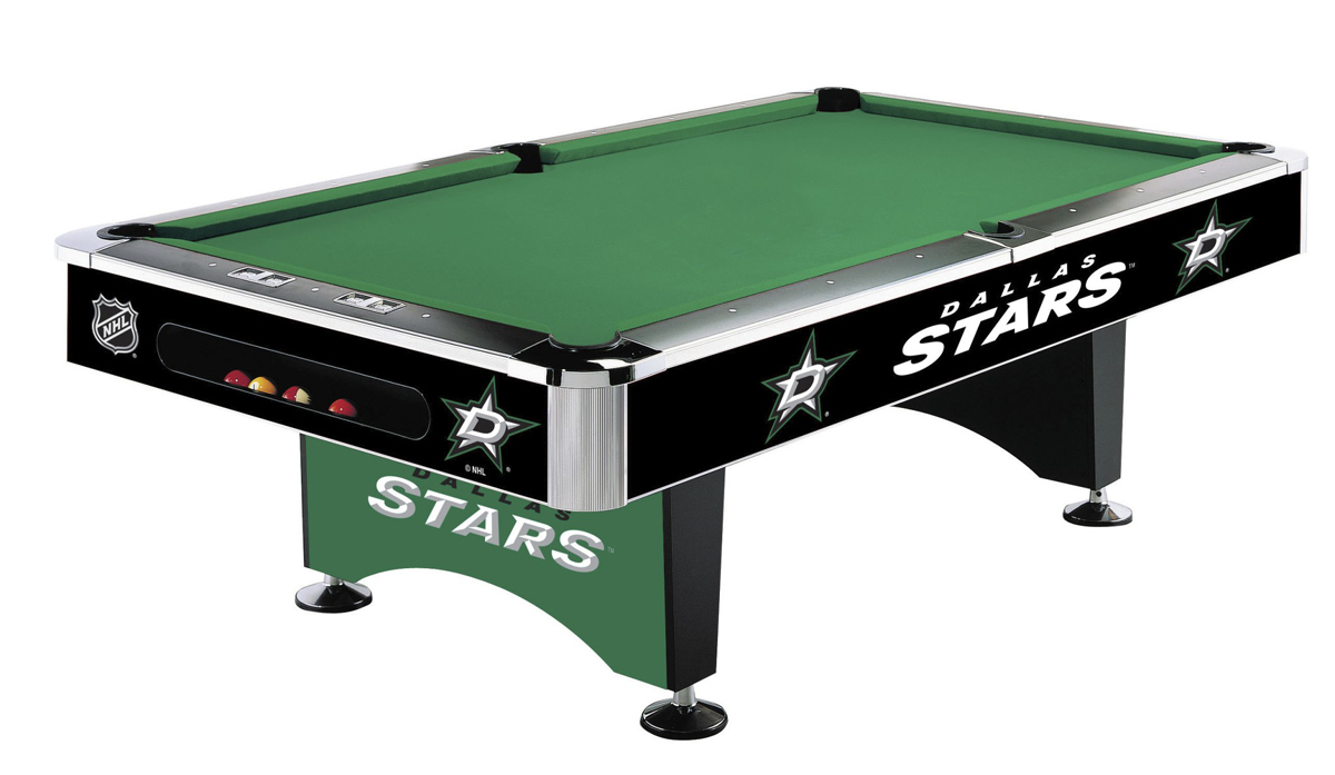 DALLAS STARS® 8 FT. POOL TABLE