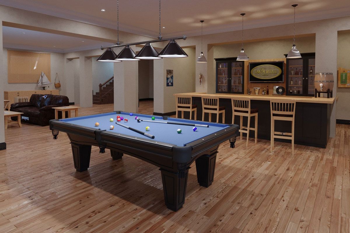 Imperial Shadow Black Pool Table Sizes 7 Or 8