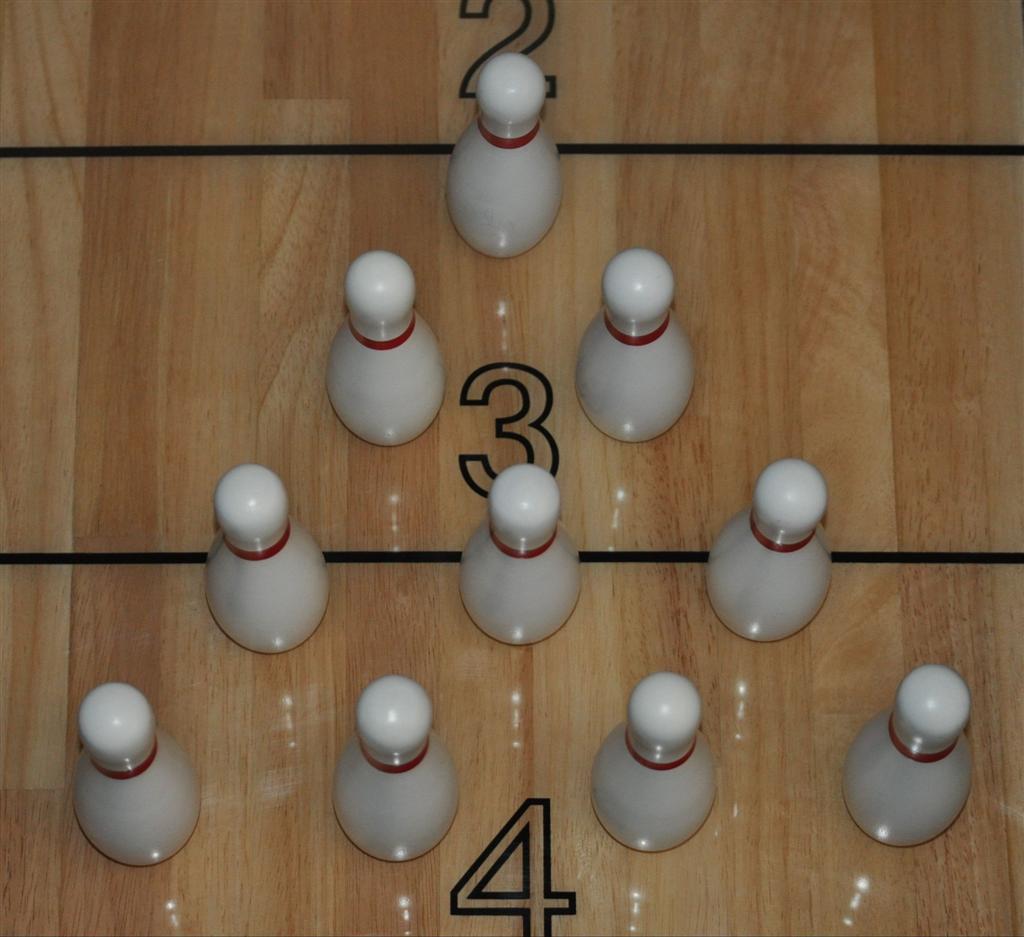 Solid Wood Bowling Pins