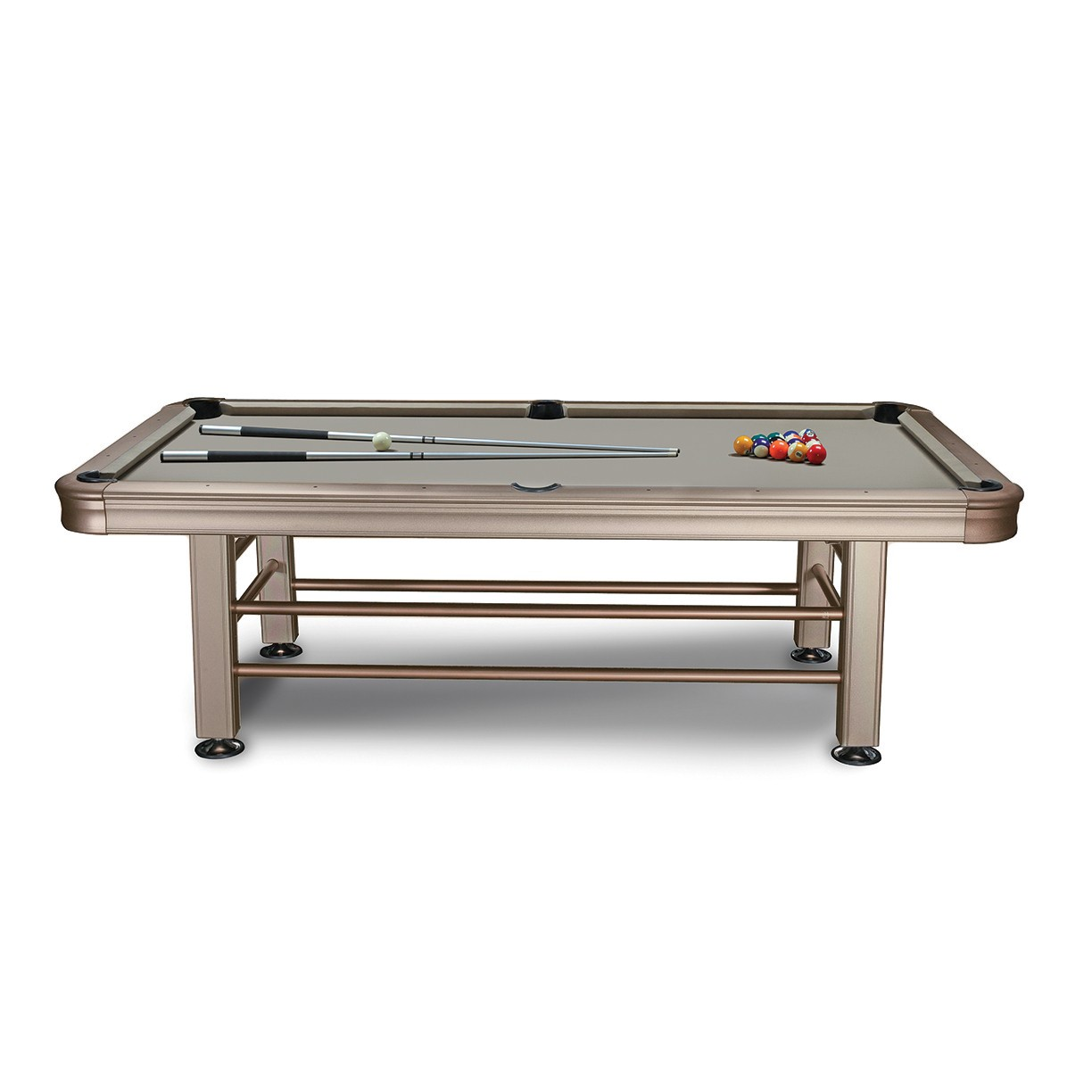 8 39 imperial outdoor pool table for Garden pool table