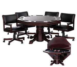 54 3 In 1 Dining Poker And Bumper Pool Table Game Tables Online Ga