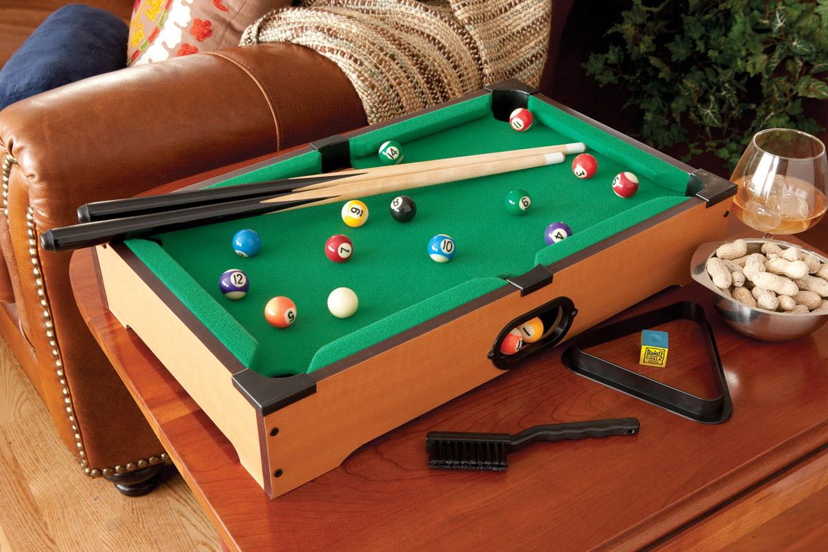 tabletop billiards. Black Bedroom Furniture Sets. Home Design Ideas