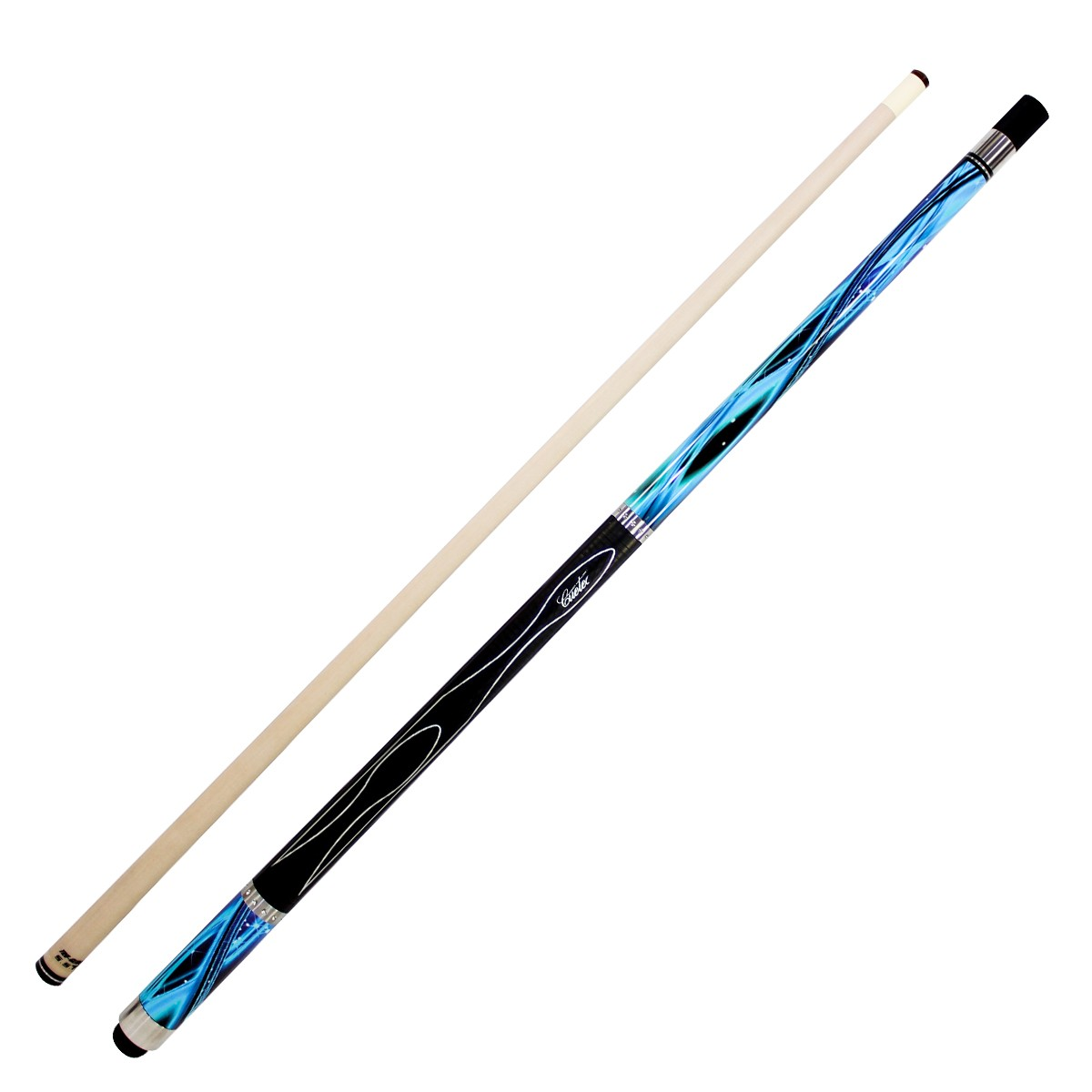 Gen Tek Pool Cue Blue Star Gametablesonline Com