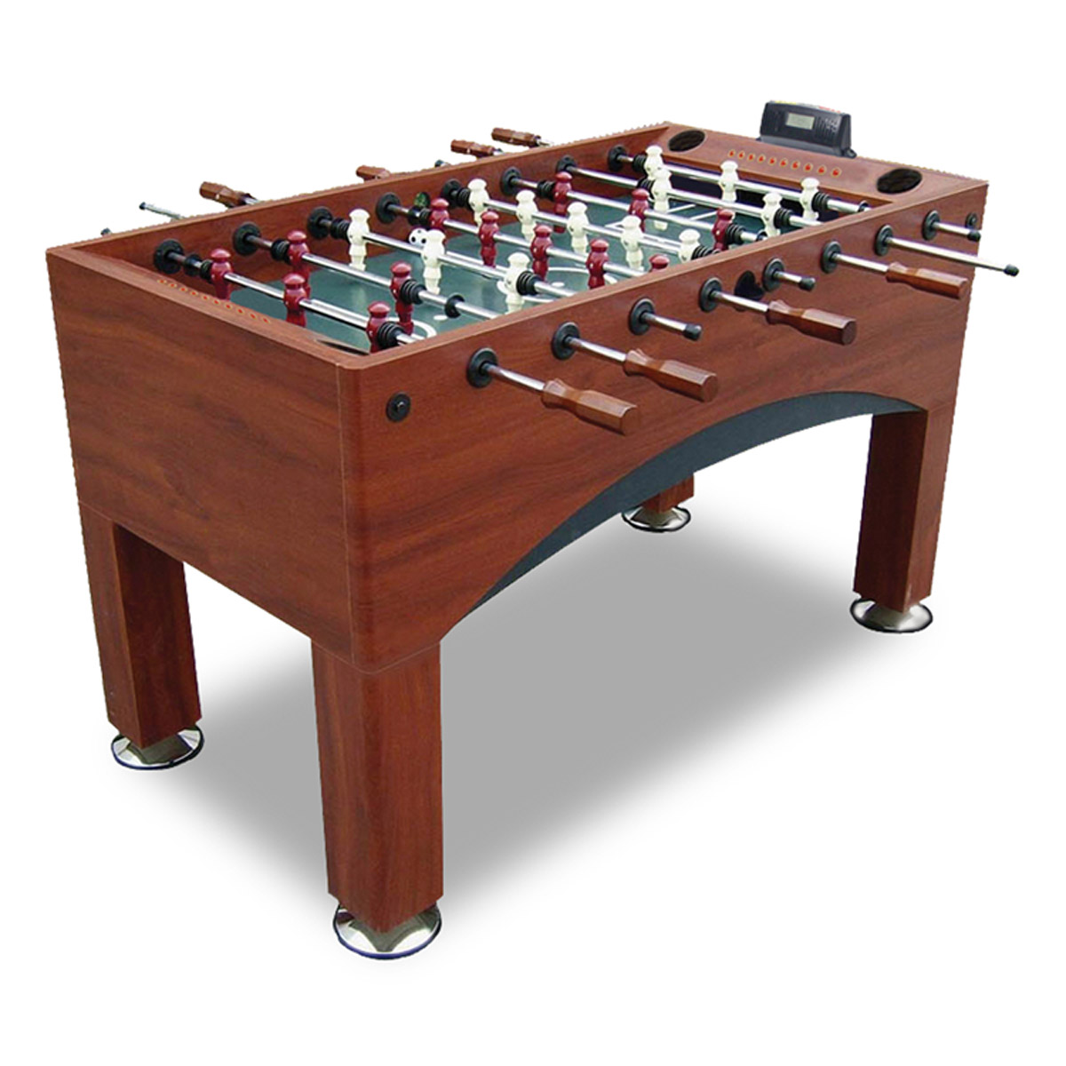 Adjustable electronic goal foosball table for 12 in 1 game table sears