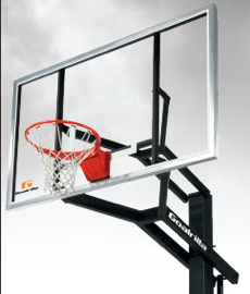 Astonishing Gsi Outdoor Basketball Goal System Home Interior And Landscaping Elinuenasavecom