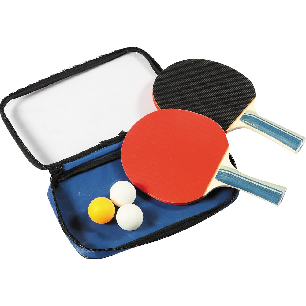 Control Spin Table Tennis 2-Player Racket & Ball Set ...