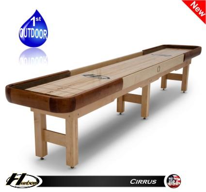 Amazing 16 Cirrus Outdoor Shuffleboard Table Home Interior And Landscaping Elinuenasavecom