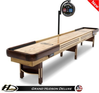 Attractive 22u0027 Grand Hudson Deluxe Shuffleboard Table