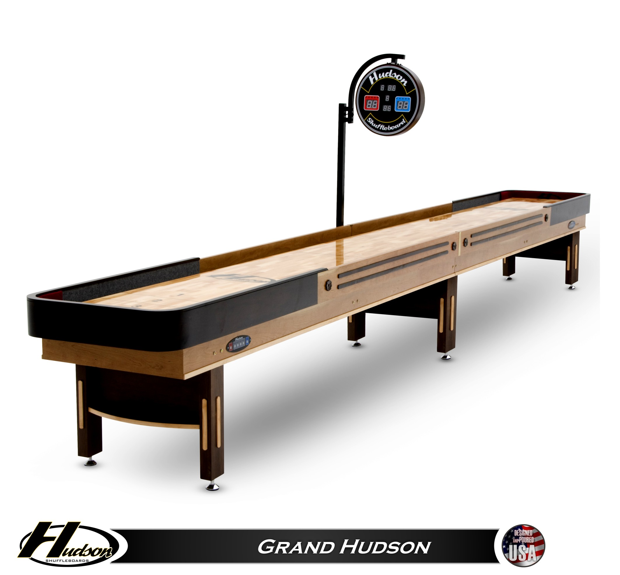 14u0027 Grand Hudson Shuffleboard Table
