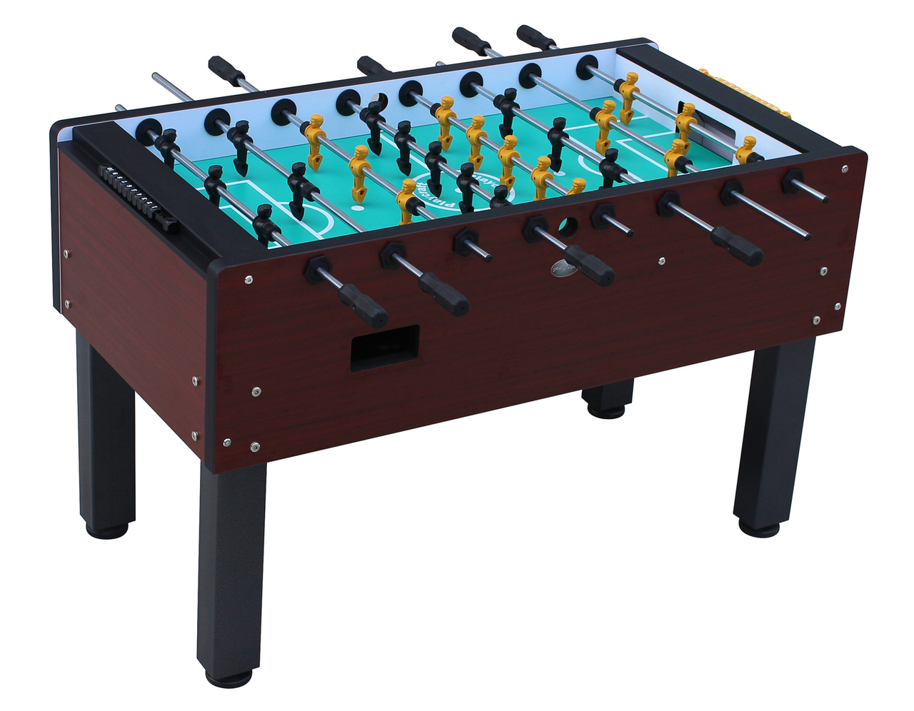 Tournament foosball table cherry - Tournament air hockey table ...