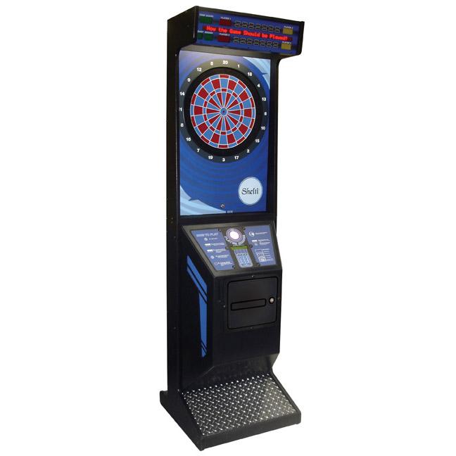 Eye 2 Electronic Dartboard Cabinet - GameTablesOnline.com