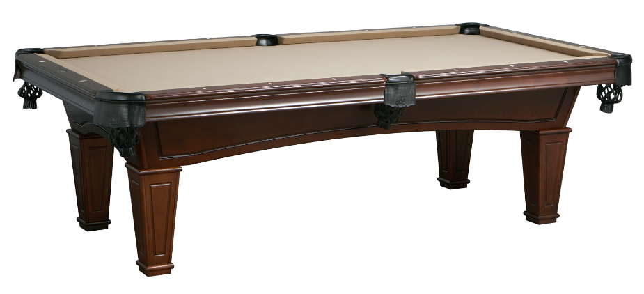 Imperial Washington Antique Walnut Pool Table Sizes 7 Or
