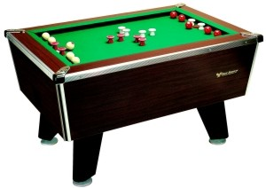 Coin Operated Bumper Pool Table