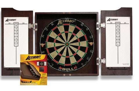 Bull Cabinet Dartboard Set