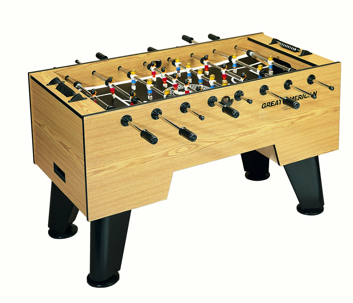 American Foosball Table - GameTablesOnline.com