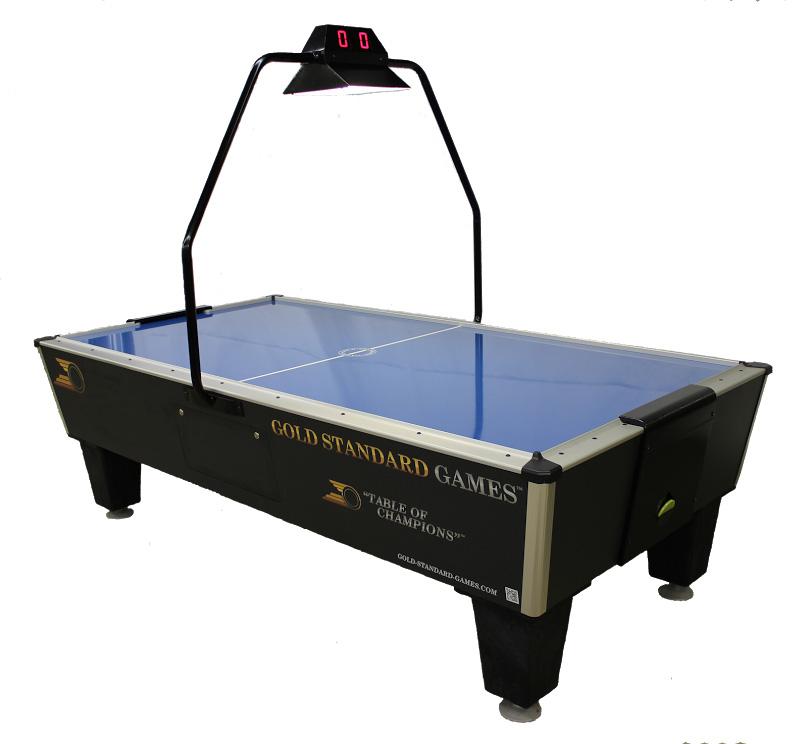 Gold standard tournament pro plus air powered hockey table - Tournament air hockey table ...