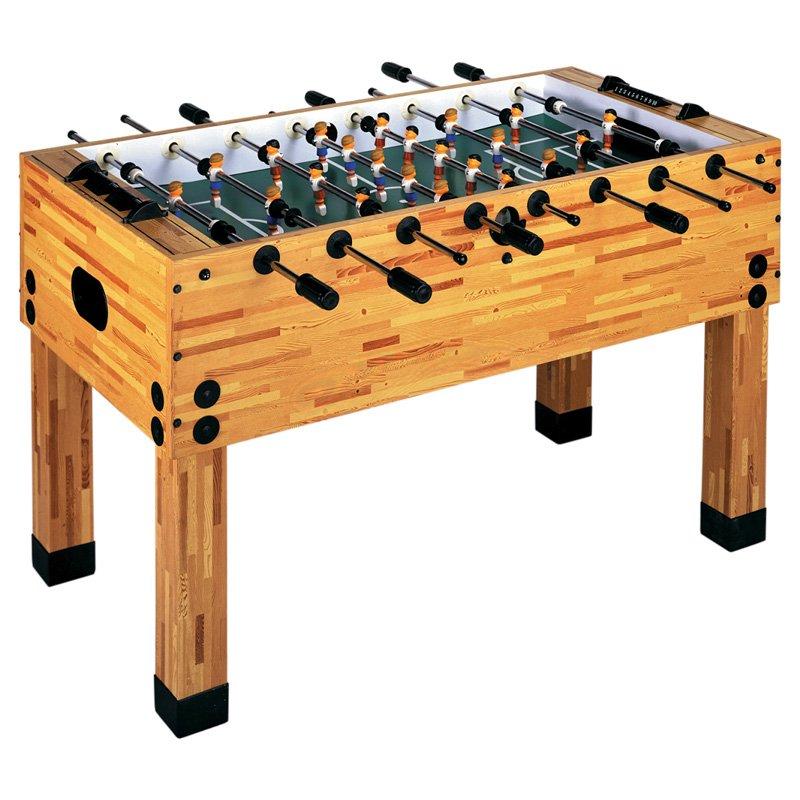 Garlando Butcher Block Foosball Table Gametablesonline Com