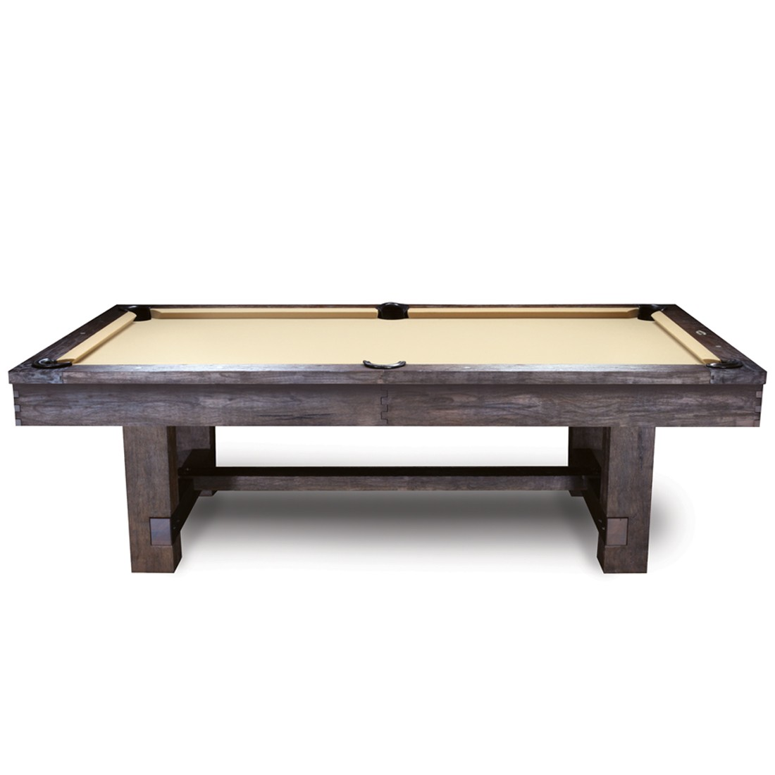 7u0026#39; and 8u0026#39; Reno Pool Table Antique Walnut - GameTablesOnline.com