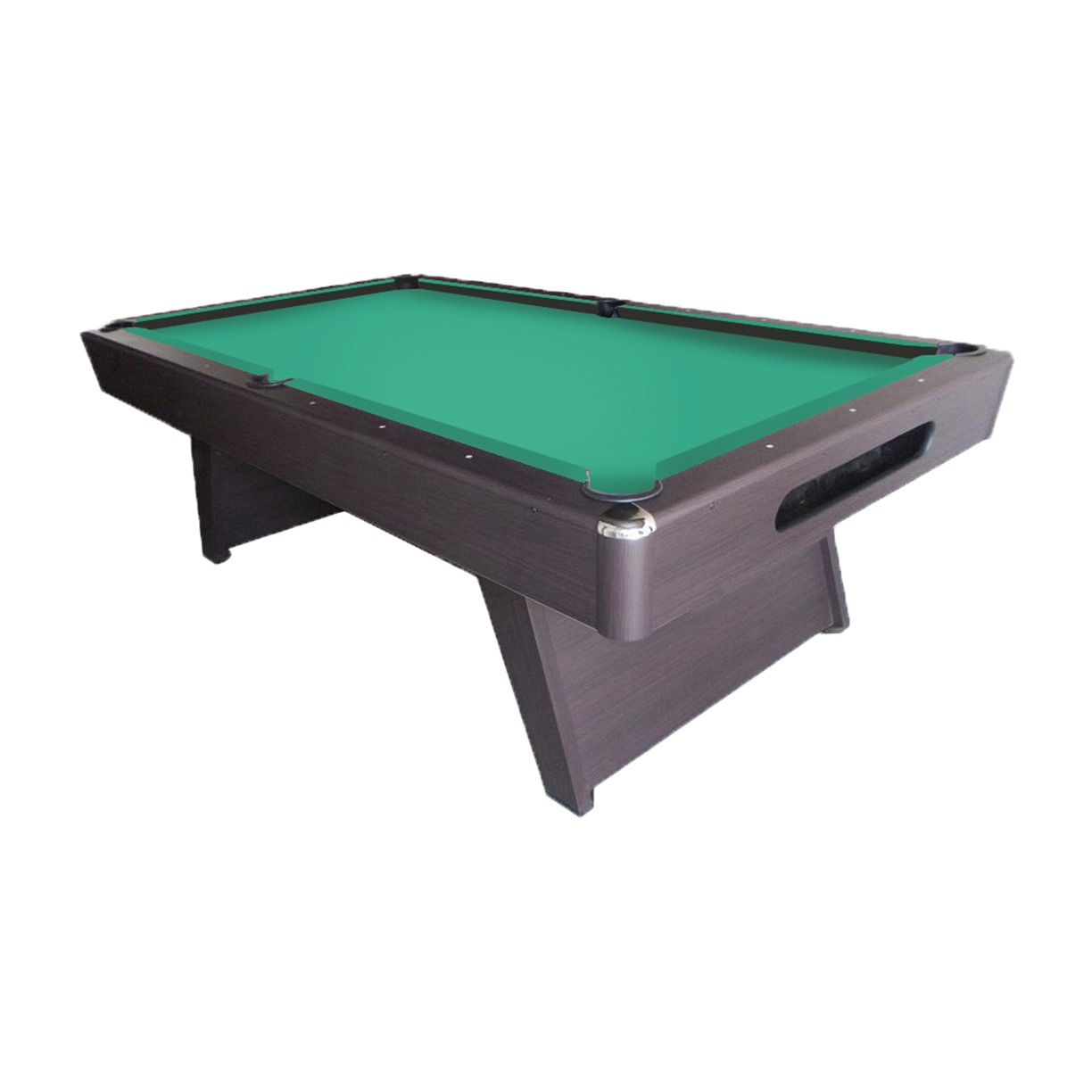 8 Imperial Sharp Shooter Pool Table Brown