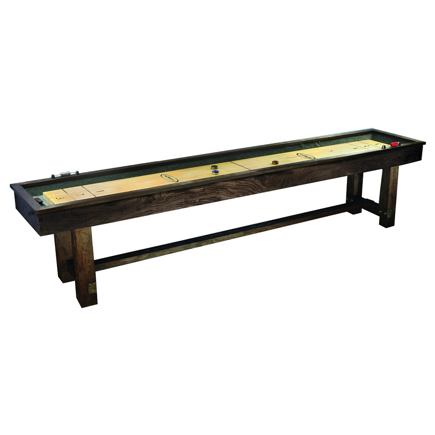 12 39 reno rustic shuffleboard table for 12 foot shuffle board table