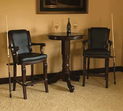 Barstools And Pub Table Set Gametablesonline Com