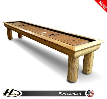 22u0027 Ponderosa Shuffleboard Table