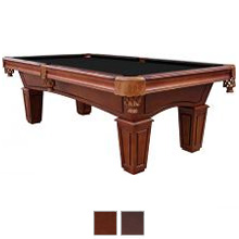 8 St Lawrence 3 Piece Slate Pool Table With Leather Drop Pockets