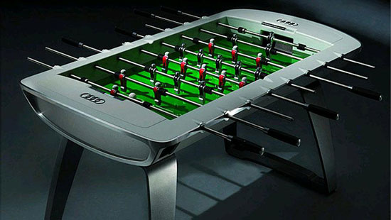 Of The Most Expensive Foosball Tables In The World - Custom foosball table