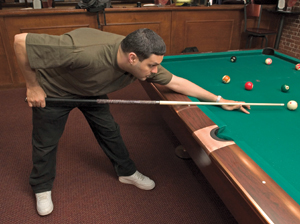 Proper Billiards Break Posture