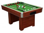 Hartford Slate Bed Cherry Bumper Pool Table