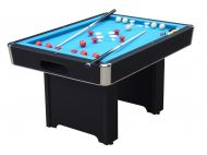 Hartford Slate Bed Black Bumper Pool Table