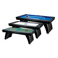 7' Phoenix 3-in-1 Billiard Table