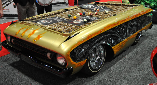 Cool Car Pool Table