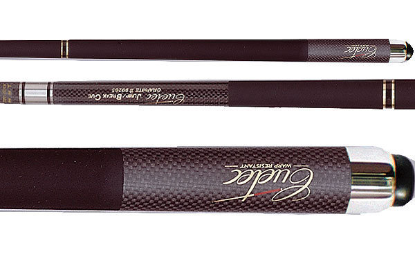 Cuetec Black Graphite Jump Break Pool Cue Stick