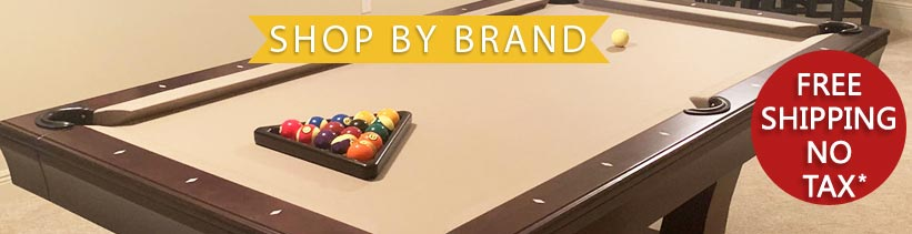 Shop Pool Table by Brand