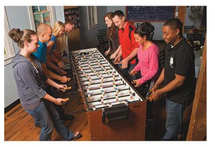 Foosball is good for the brain!