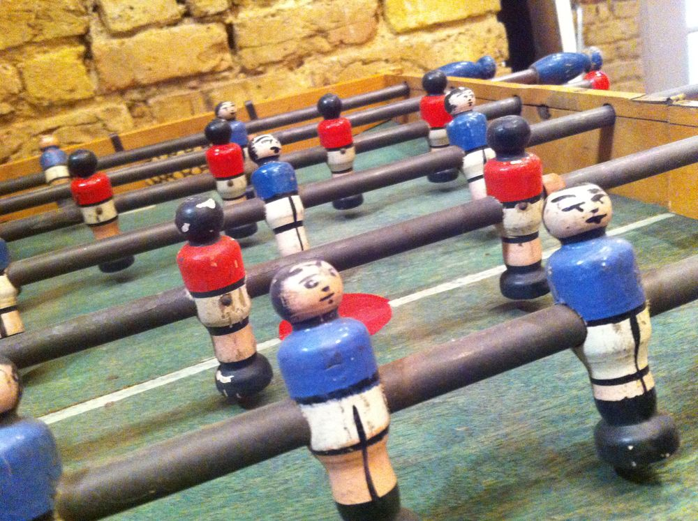 The history of table football aka foosballgame tables and more - Who invented table football ...