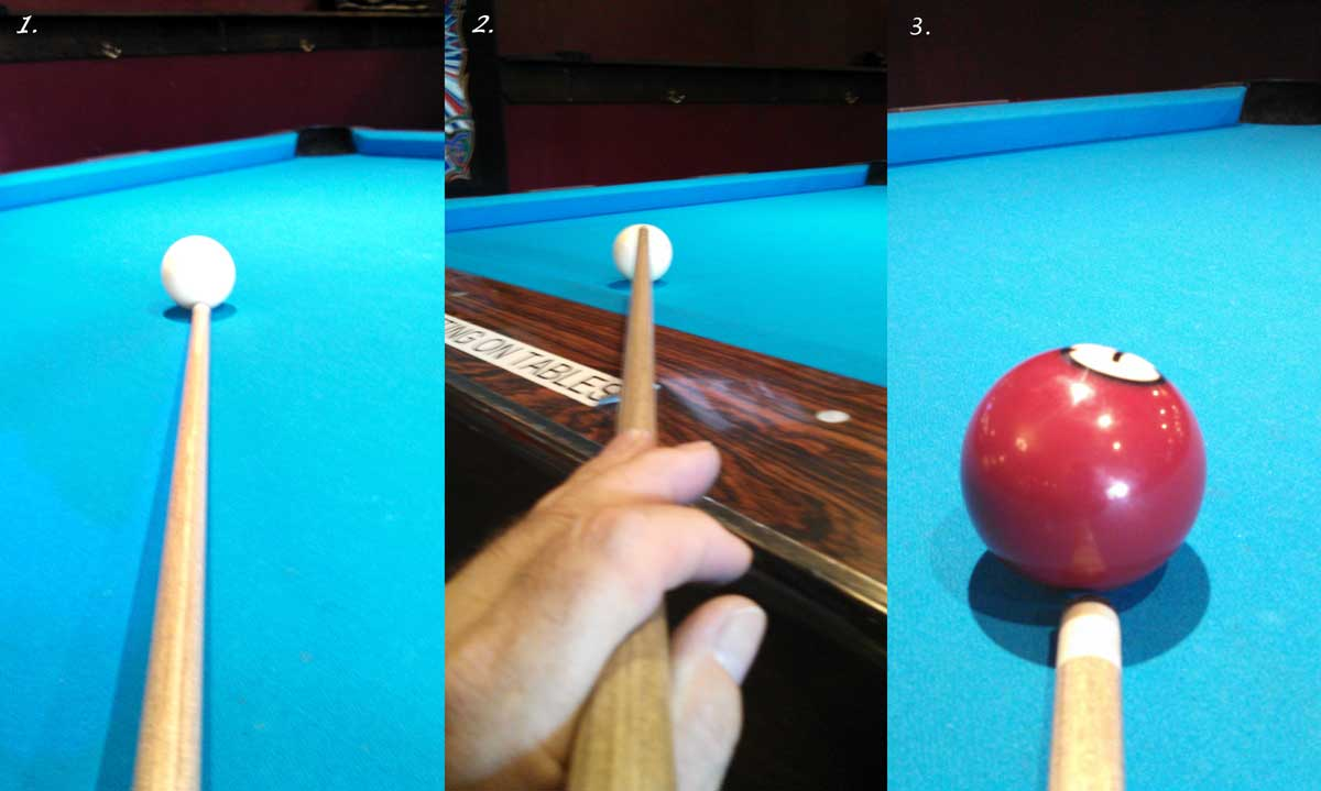 3 Exercised to Find the Vertical Axis of a Billiards Ball