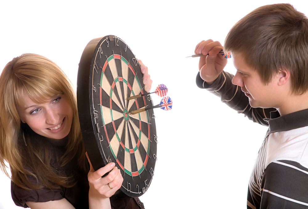 How High To Hang A Dart Board From Floor To The Bullseye