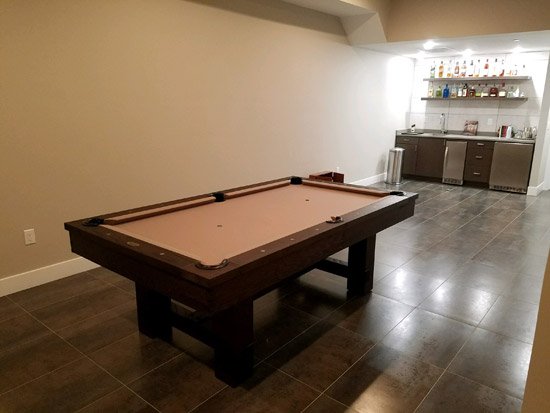 Game Tables Online In Home Installation Pictures