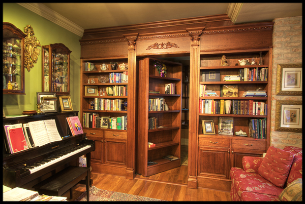 10 tricked out game room ideas for 2014game tables and more for Hidden gun room